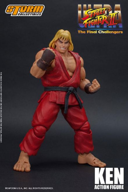 Storm Collectibles Ultra Street Fighter II: The Final Challengers 1/12 Scale Ken Action Figure